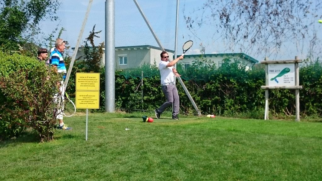 Tennis-Golf Turnier