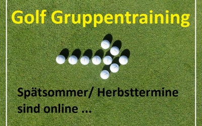 GOLF Training – Herbst 2017