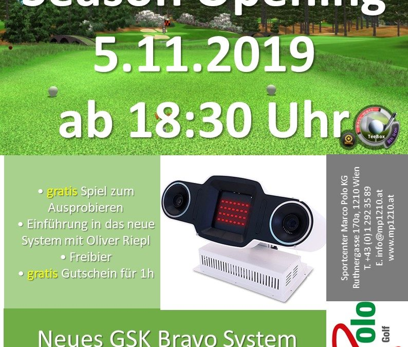 Indoor Golf Season Opening