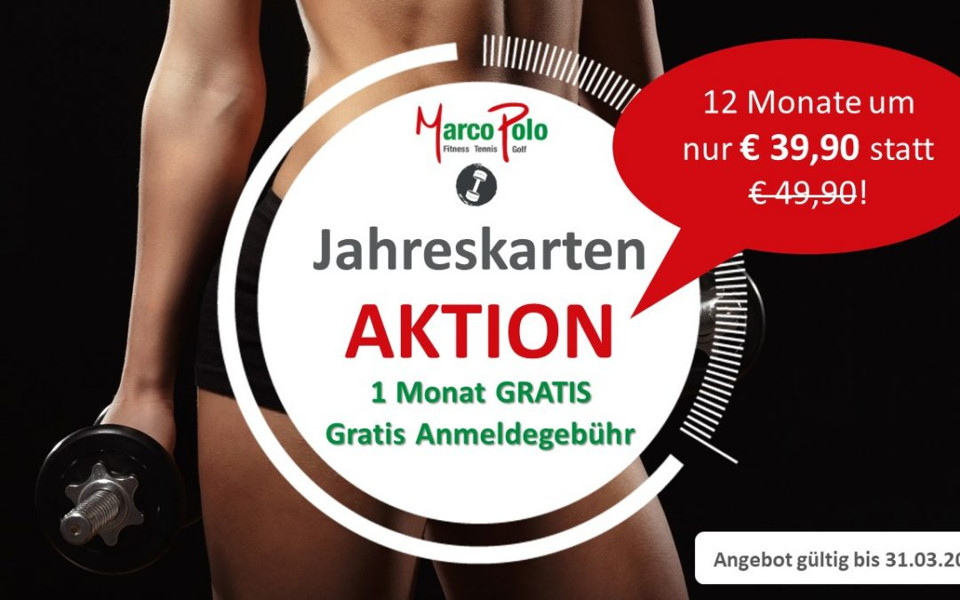 Fitness Aktion!!